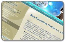 Strona internetowa firmy księgowej