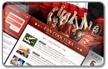 Portal internetowy młodego kibica