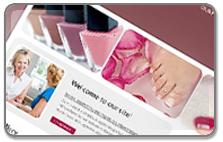 Strona internetowa Studio paznokcia